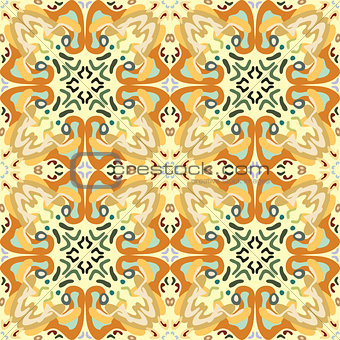 Arabesque Seamless Wallpaper