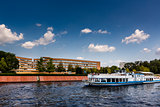 A Boat Trip in the Spree River, Berlin, Germany