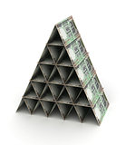 Indian Rupee Pyramid