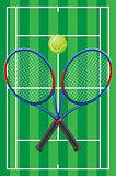 tennis vector