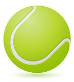tennis ball vector illustration