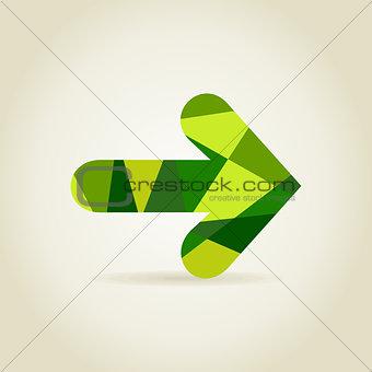 Abstraction arrow