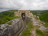 Travel locations in Bulgaria, view to the town Provadia from fortress Ovech