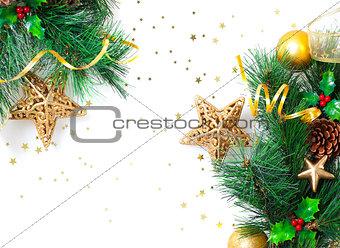 Christmastime border