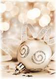 Christmas tree ornament, bauble decoration