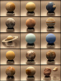 Planets and Moons of the Solar System