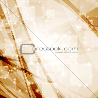Abstract tech vector shiny background