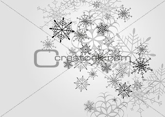 Abstract Christmas vector design