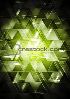 Abstract glossy hi-tech backdrop