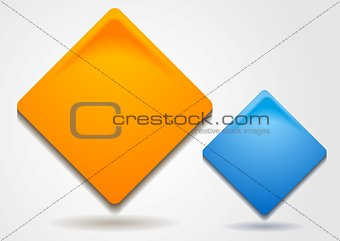 Bright squares vector design