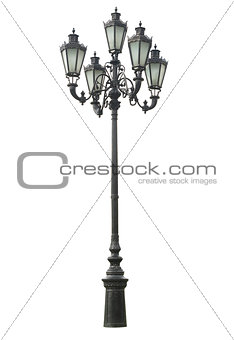 Old lamppost