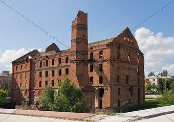 Old mill in Volgograd
