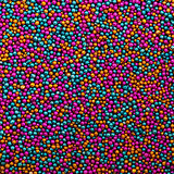 Background from Turquoise, Pink and Golden Balls of Bead