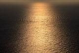 sunny lane at sea
