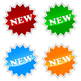 New buttons set