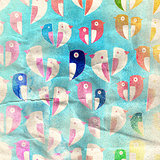 Aged pattern birds