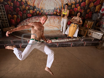 Capoeira Martial Arts and Music