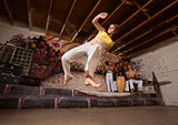 Flexible Capoeira Woman