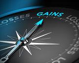 Capital Gains Concept