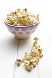 popcorn on table