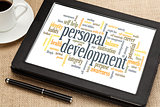 personal development word cloud