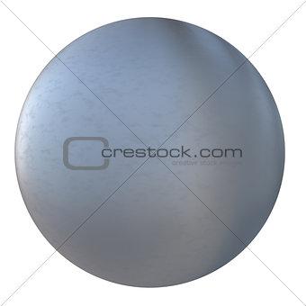 Gray metal ball
