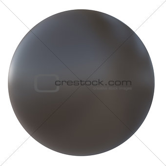 Ball of brown plastic