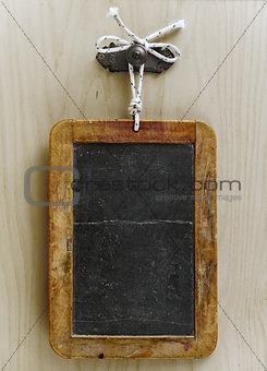 Aged blackboard.