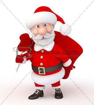3d Christmas holiday.