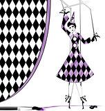 fantasy puppet Pierrette
