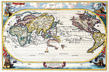 High-Quality Antique Map