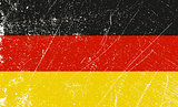 German Flag vintage