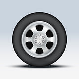 Wheel disk of car.