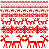 Christmas winter pattern