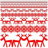 Christmas winter pattern