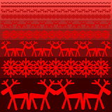 Xmas winter pattern