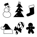 Xmas icon and design elements