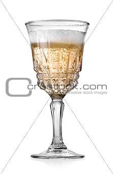 Goblet of champagne