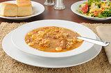 Chicken sausage gumbo
