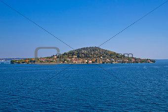 Small Dalmatian island of Osljak