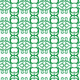 Seamless curl pattern