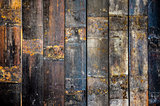 Detail of old wooden timber texture