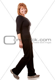 fitness mature woman