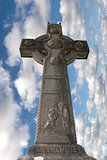 memorial cross in honor of saint colomba
