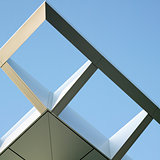 Modern architectural awning