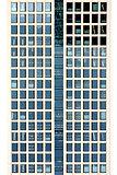 Abstract window facade