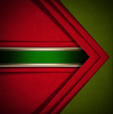 Red and Green Velvet Abstract Background