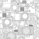 Seamless photography pattern