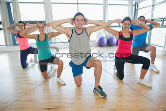 Fitness class and instruc