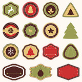 Decorative Christmas stickers